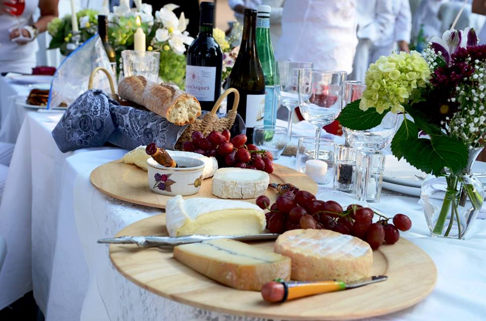 MyFrenchLife™ - diner en blanc - cheese