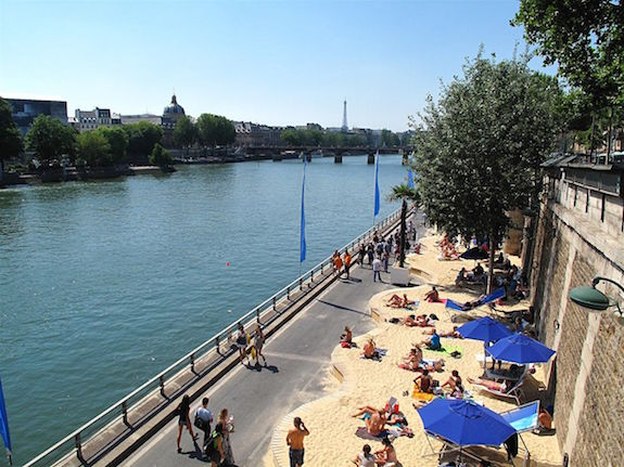 MyFrenchLife™ - Paris in July - Paris Plages