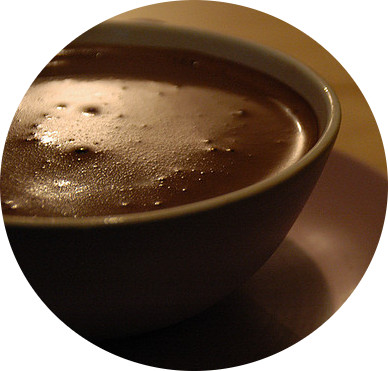 MyFrenchLife™ - hot chocolate in Paris - cup of hot chocolate