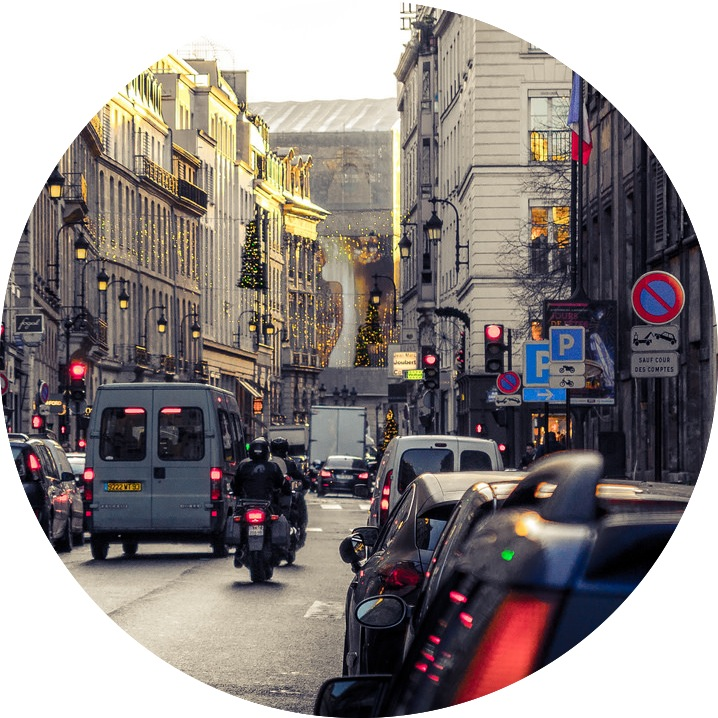 MyFrenchLife™ - driving in Paris - road rules