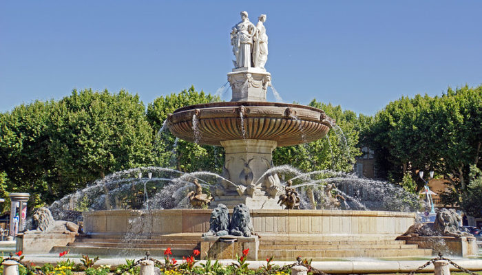 MyFrenchLife.org - Rivalry in Provence: is it a love-hate thing? fountain