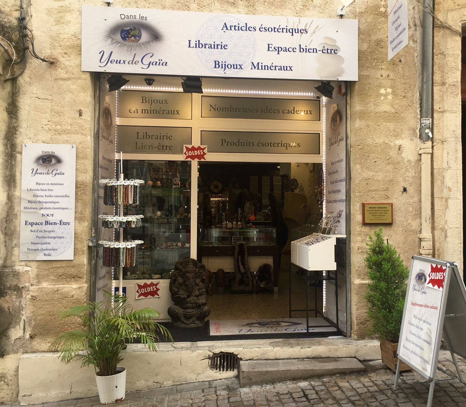 MyFrenchLife™ - MyFrenchLife.org - Montpellier health and wellbeing - Yeux de Gaia shop