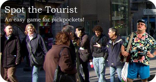 spot tourist