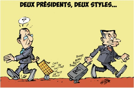 MyFrenchLife™ - normal French president - French politics - Francois Hollande Nicolas Sarkozy