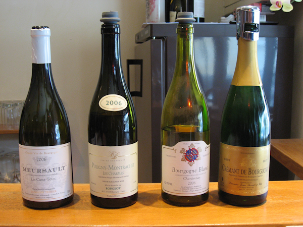 Our samplings in Puligny-Montrachet