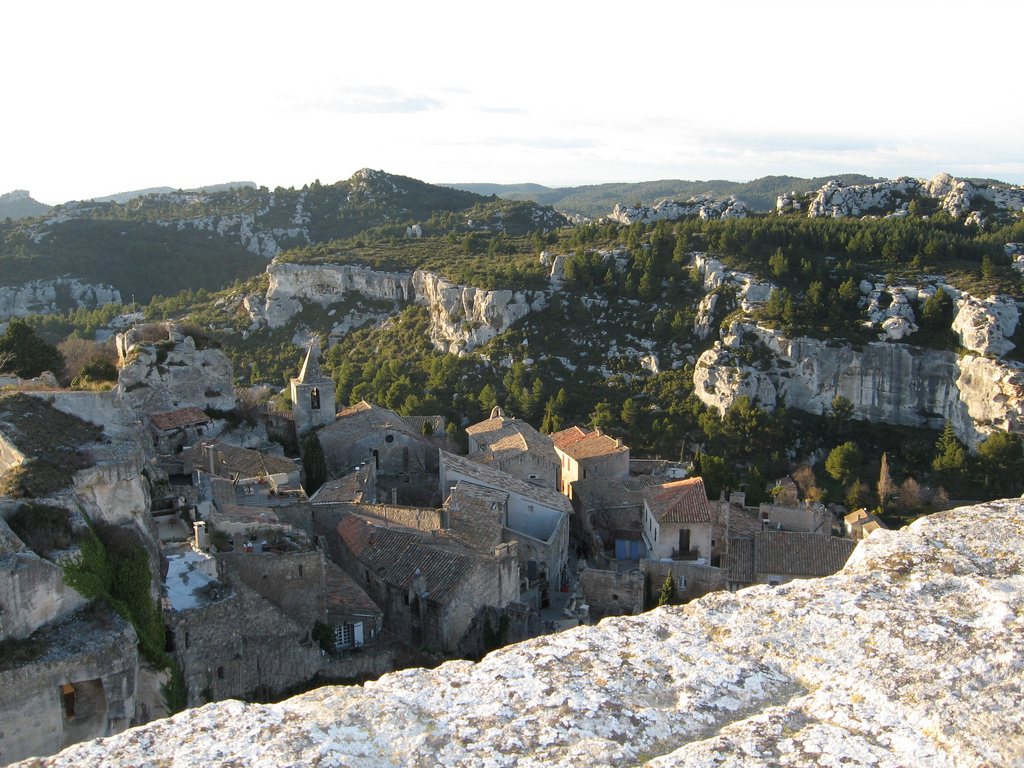 RONNIE HESS - C'est beau Les Baux de Provence - My French Life - Ma Vie Française - www.MyFrenchLife.org