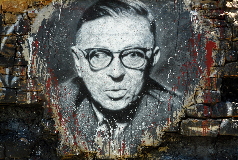 MyFrenchLife - french philosophers - French philosophy-  Jean-Paul Sartre - art