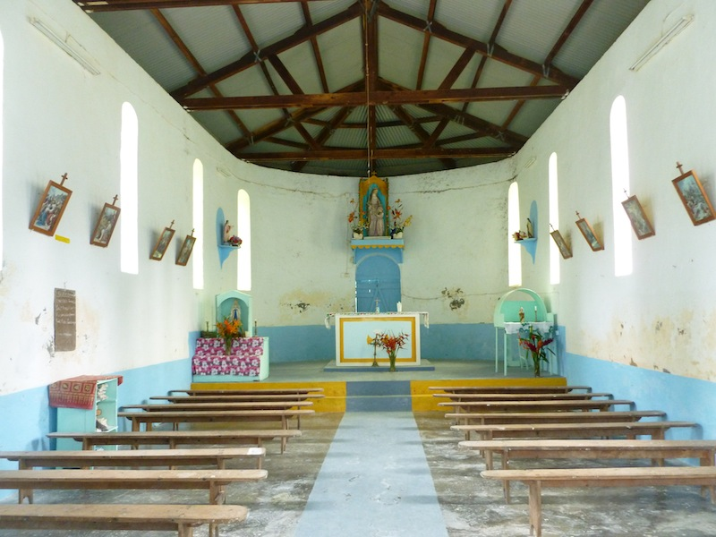Rachelle Buroyne 29.5.13 - inside church