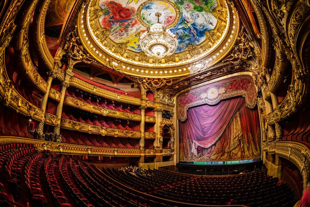 l'opera - Walking tour of Paris - www.MyFrenchLife.org