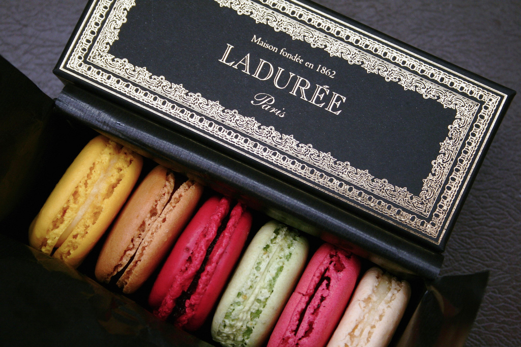 Laduree macarons - Walking tour of Paris - www.MyFrenchLife.org