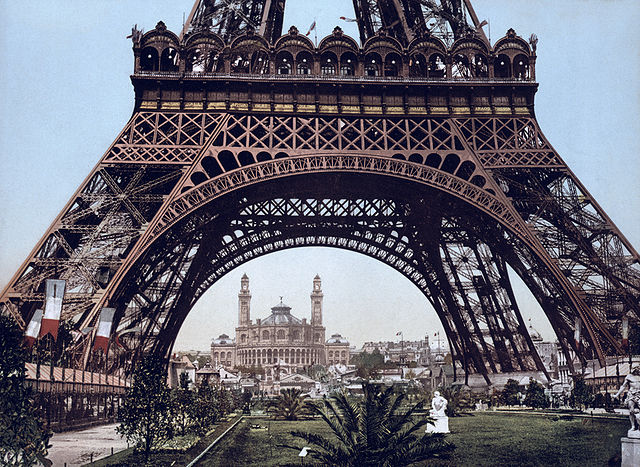 Eiffel Tower and the Trocadero, Exposition Universal, 1900, Paris, France - MyFrenchLife.org