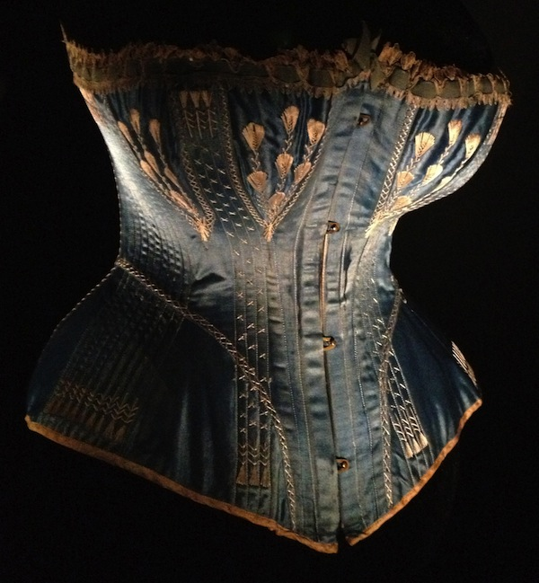 Corset circa 1876, Melanie Talkington collection