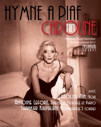 Caroline Nine - Hymne à Piaf - My French Life™