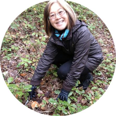 Rosemary Kneipp - First Mushroom - My French Life™