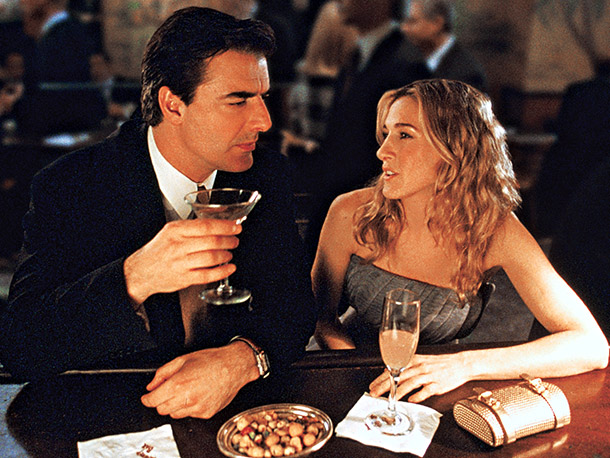 Carrie & Mr Big on a date - Sex and the City - French & Americans: from different planets? - My French Life