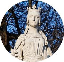 Paris - Mathilda of Flanders - French gardens - www.MyFrenchLife.org