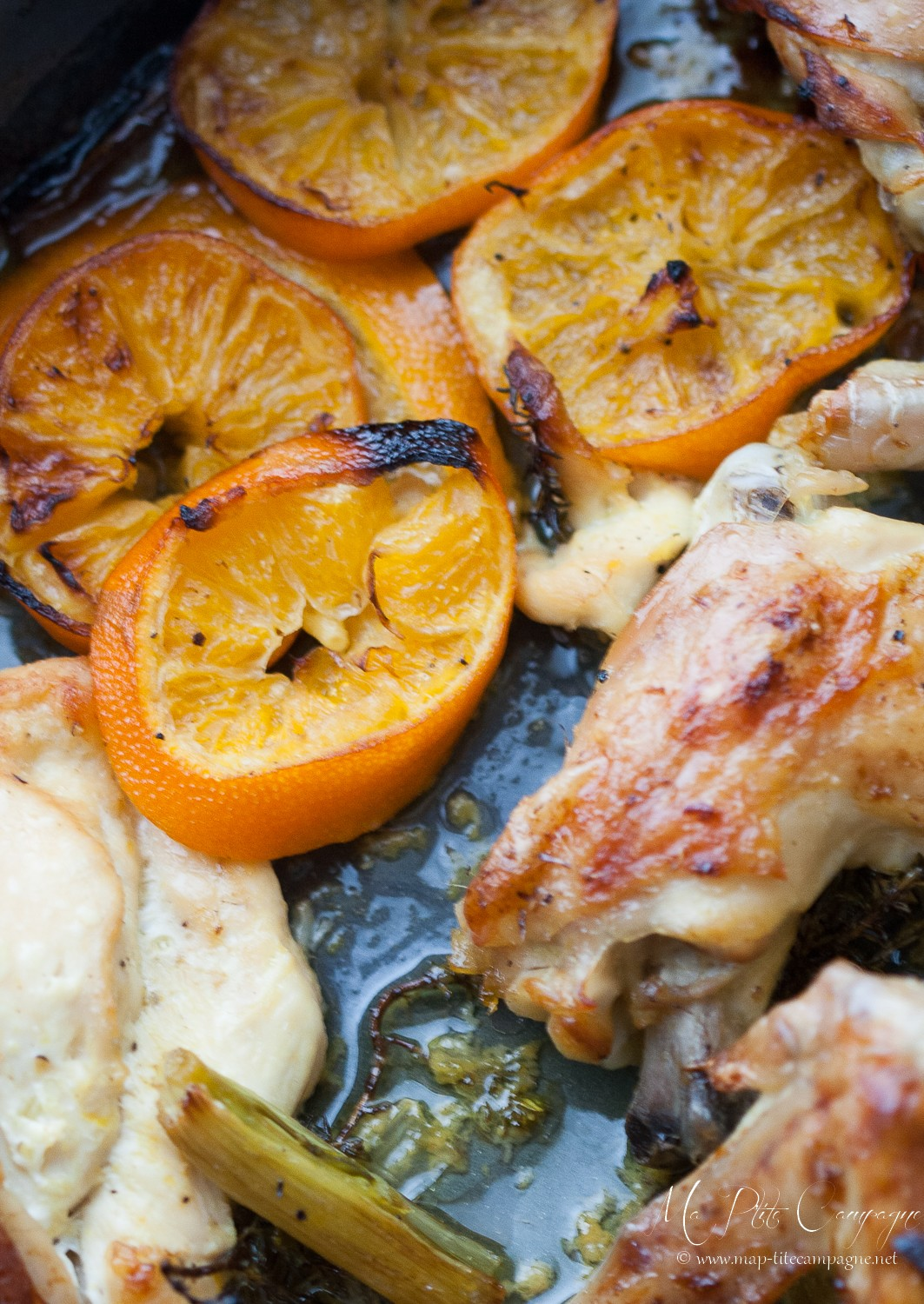 French recipes - French Chicken - ©Ma P'tite Campagne - www.MyFrenchLife.org