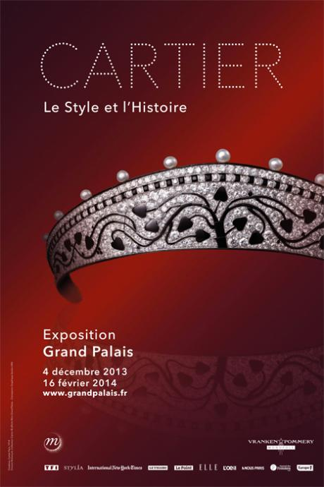Things to do in Paris: Cartier exhibition, Grand Palais - www.MyFrenchLife.org