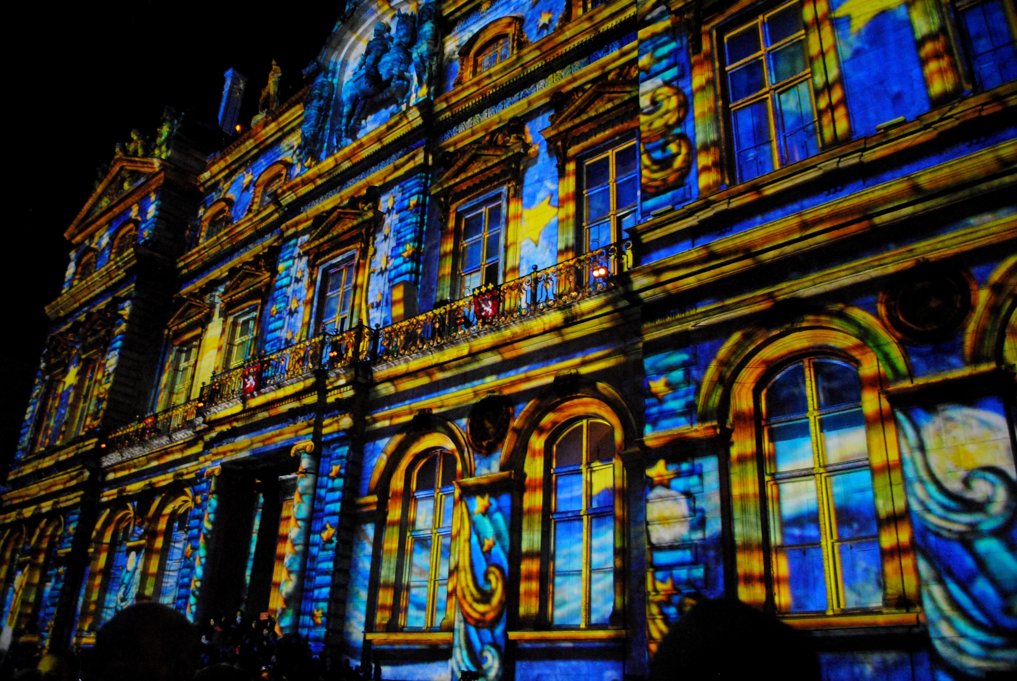 Fête des Lumières - Lyon  - www.MyFrenchLife.org