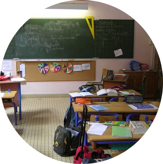 School - Education - France - US - Cultural differences - www.MyFrenchLife.org