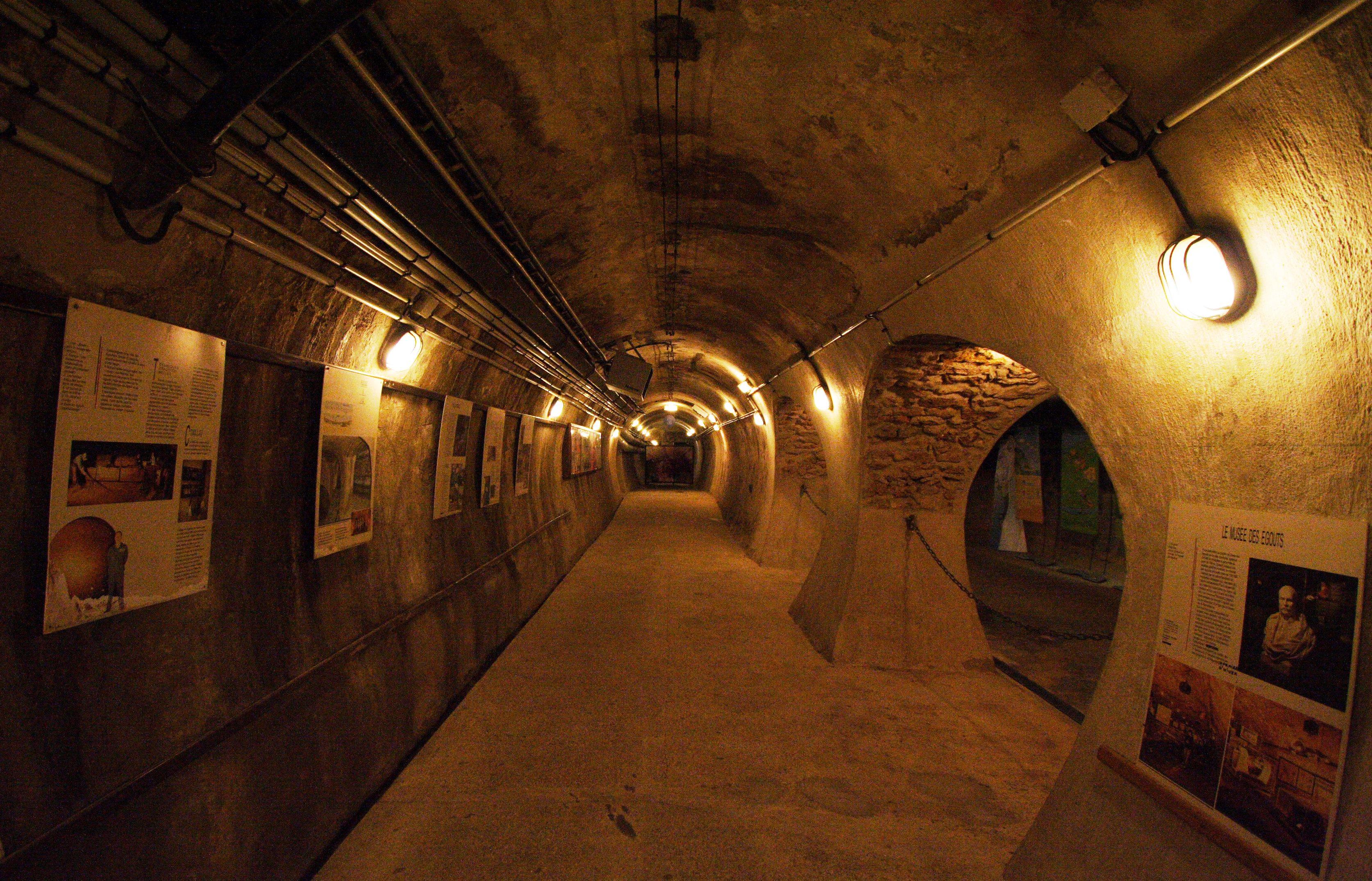 Paris museums - Egouts de Paris - Paris sewers museum - www.MyFrenchLife.org