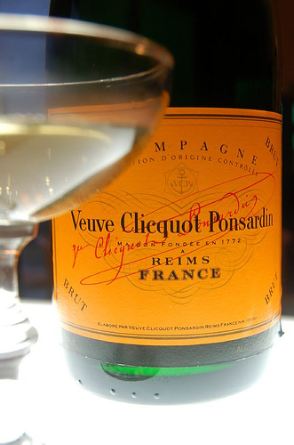 French champagne - Veuve Clicquot - www.MyFrenchLife.org