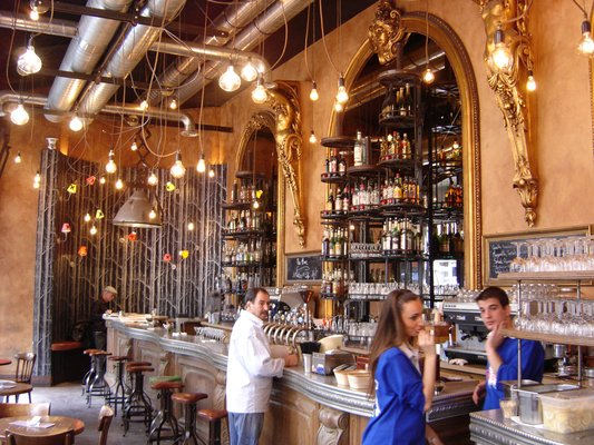 MyFrenchLife™ - Paris hot chocolate - Le Brebant