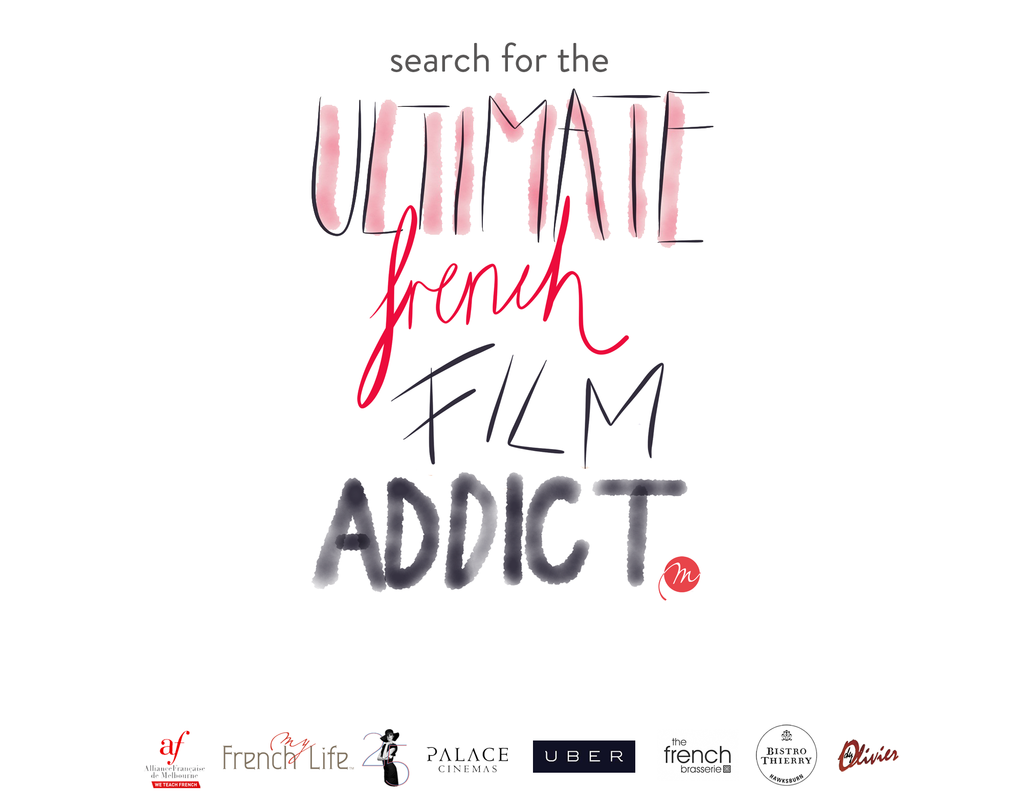 Search for  a French film addict in Melbourne © My French Life™ - Alliance Française French film festival