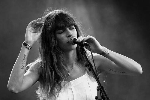 French singer - Lou Doillon - MyFrenchLife.org