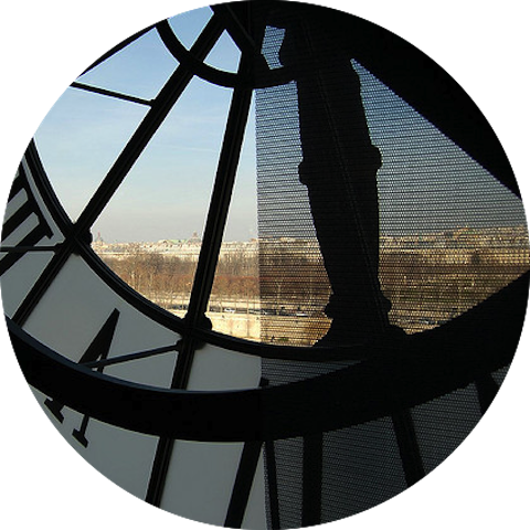 Happiness in Paris - Musee DOrsay Clock Image image My French Life - Ma Vie Française