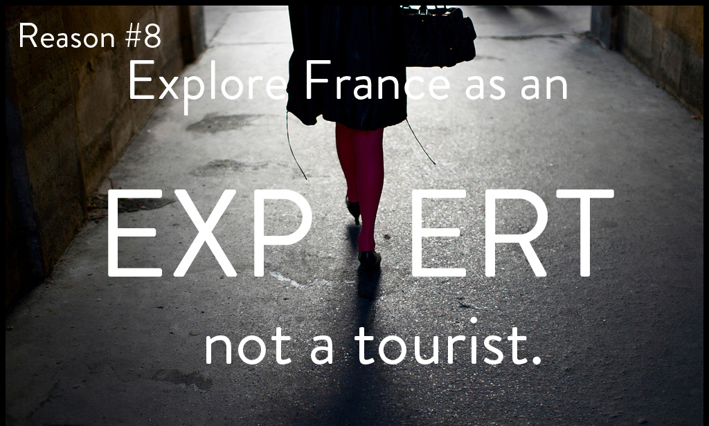 MyFrenchLife™ - benefits to learning French - explore France