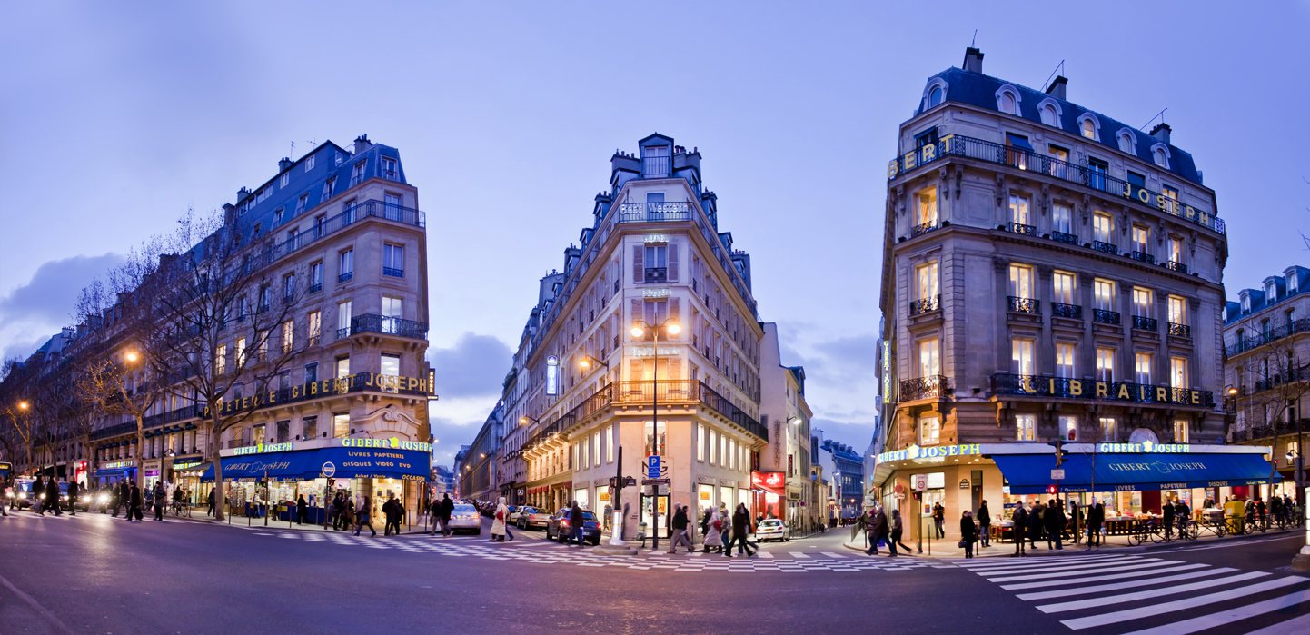 MyFrenchLife™ - Parisian bookshops - Paris bookstore - Gibert Joseph