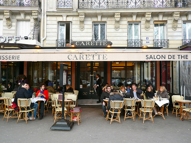 MyFrenchLife™ - hot chocolate in Paris - Carette