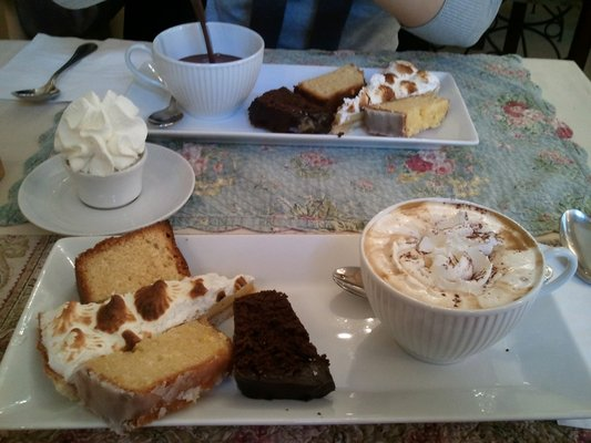MyFrenchLife™ - Paris hot chocolate - afternoon tea