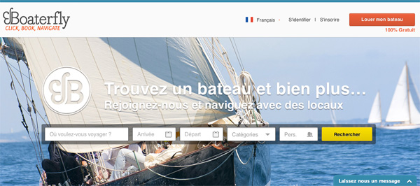 Travel in France - boaterfly - Guide to the sharing economy - MyFRenchLife.org