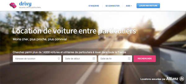 Travel in France - drivy -Guide to the sharing economy - MyFRenchLife.org