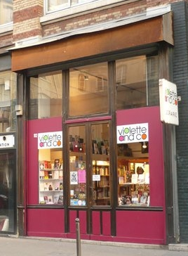 MyFrenchLife™ - Parisian bookshops - Violette and Co