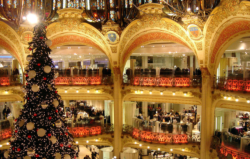 MyFrenchLife™ – MyFrenchLife.org – Paris in December – what's on - Paris Christmas - Galeries Lafayette