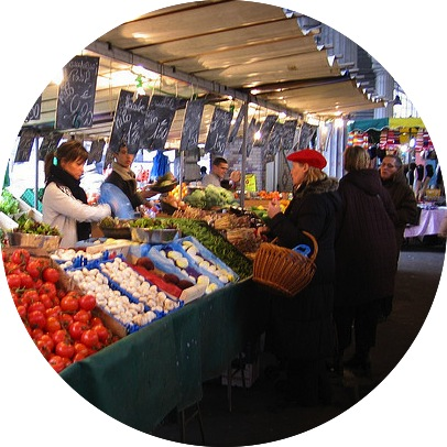 MyFrenchLife™ - Food shopping in Paris - marchés parisiens
