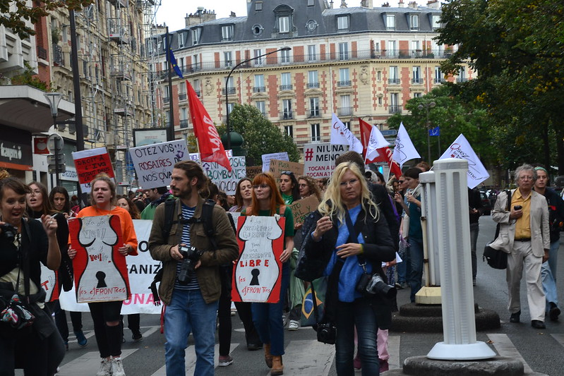 'MyFrenchLife™ 'MyFrenchLife™ - Abortion rights in France - protest