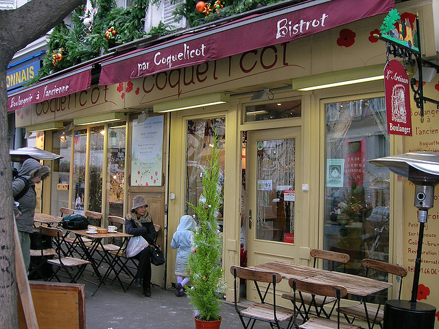 MyFrenchLife™ - hot chocolate in Paris - la Coquelicot