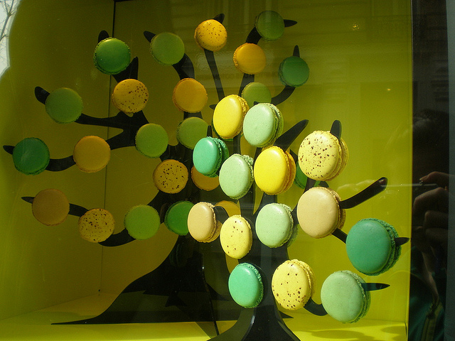 MyFrenchLife™ - macaron - Macaron tree green