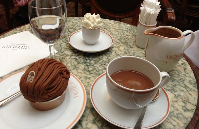 MyFrenchLife™ - Paris hot chocolate - Angelina