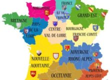 MyFrenchLife™ – MyFrenchLife.org – new regions of France – map – old regions – new regions – name changes – merging – 2016