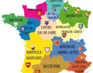 Regions In France Map.My French Life Ma Vie Francaise