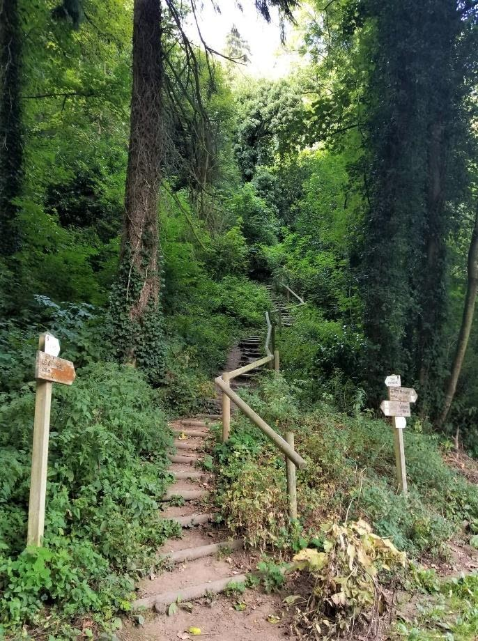 Brittany outdoor activities - Dinan trail