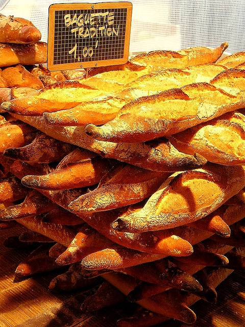 Paris - Alison Eastaway - www.MyFrenchLife.org - Happiness in Paris experiment - Part five: living vicariously - baguettes