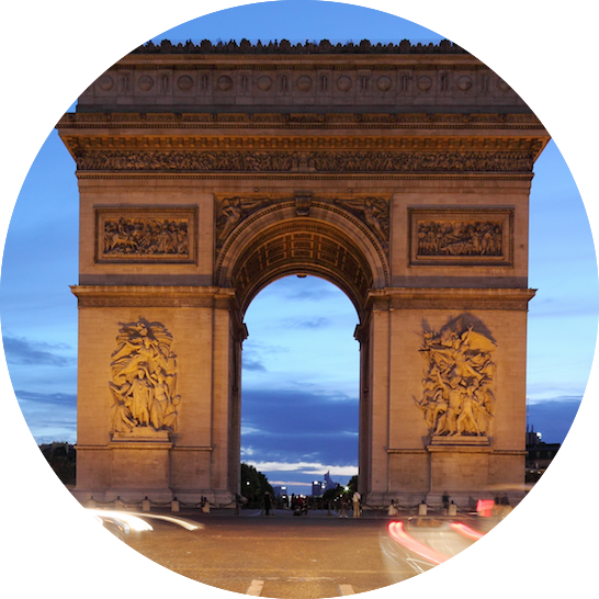 Arc de Trimphe - Travel with kids in Paris MyFrenchLife