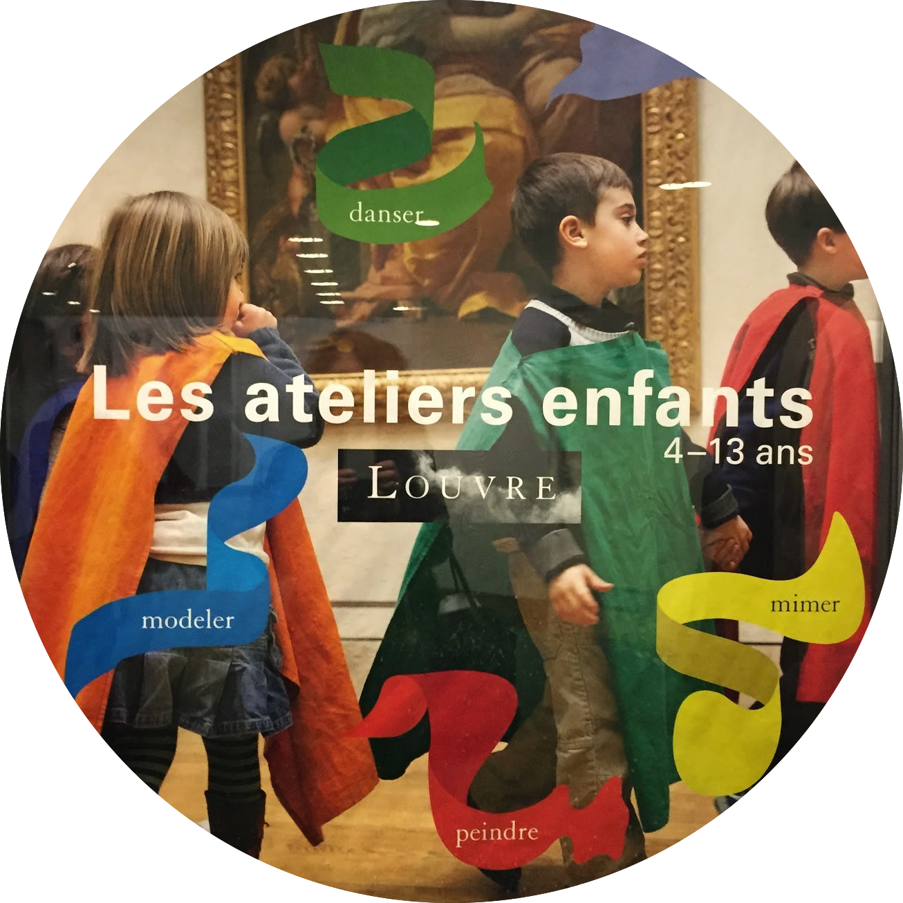 Atelier des Enfants Louvre Paris with Kids