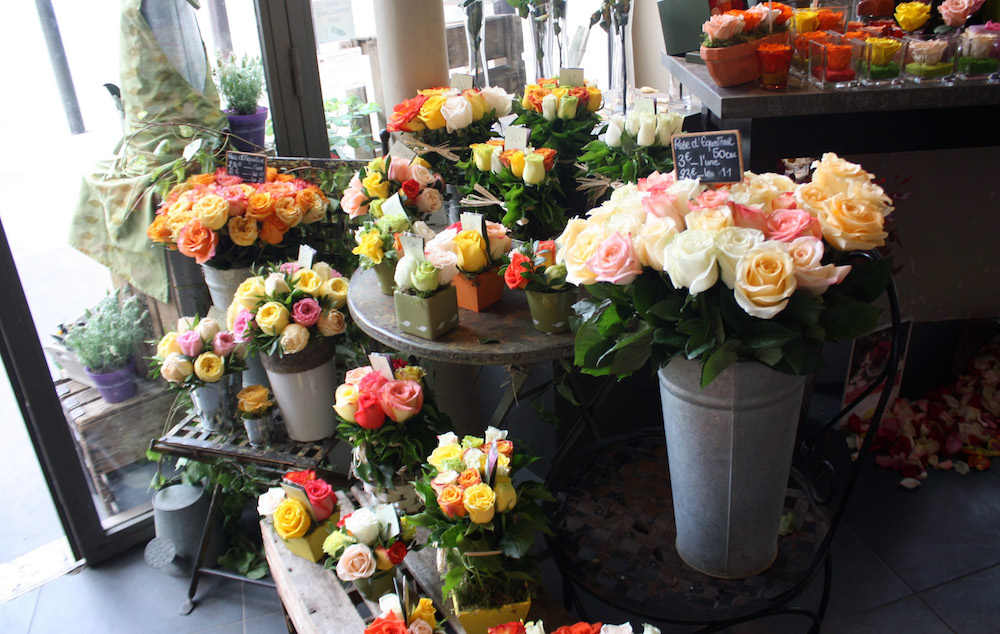 MyFrenchLife™ – MyFrenchLife.org - Paris Mosaic - Paris florists - left bank - rive gauche - Au Nom De la Rose